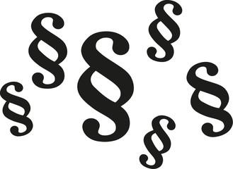 Paragraph symbols