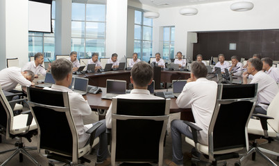 Meeting and discussion briefing. Business meeting, conference