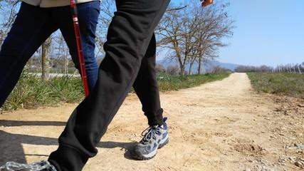 Caminantes, peregrinos, senderistas