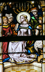 Stained Glass - Blssed Virgin Mary