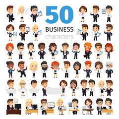 Business People Big Collection