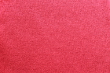 fabric texture red cotton conveyor. red fabric texture for background.