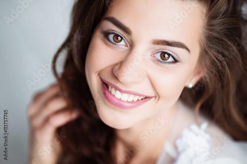 perfect female smile