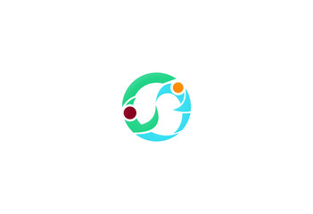 round partner business logo