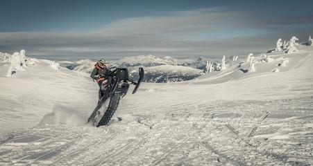 sled wheelie