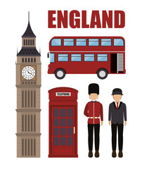 england culture design, vector illustration eps10 graphic