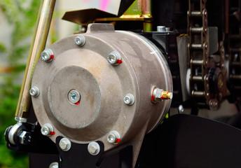 machine or combine harvester gearbox