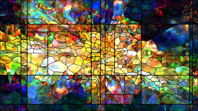 Metaphorical Stained Glass