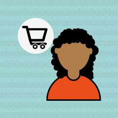 people shopping design