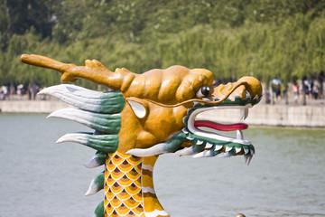 Dragon head ornament