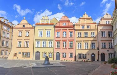 Warszawa, ulica Kanonia na Starym Mieście