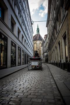 Mit dem Fiaker durch die Strassen von WienWien