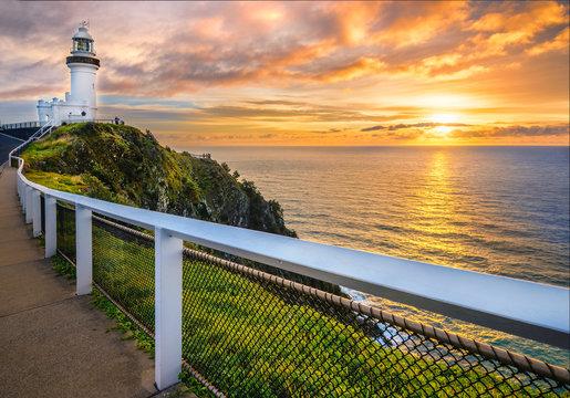 Sunrise at Cape Byron. Horizontal Frame.