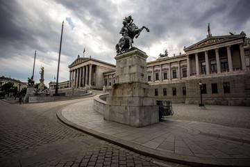 Parlament in Wien, Vienna