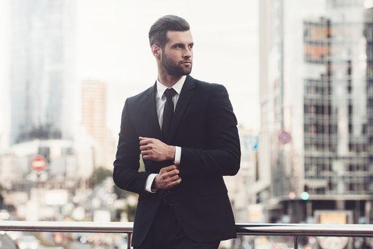 Modern businessman.