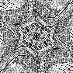 Artistically ethnic pattern.