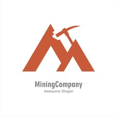 The best mining logo template.