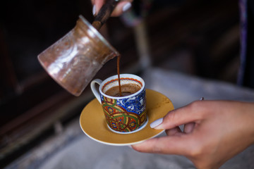 Turkish sand coffee