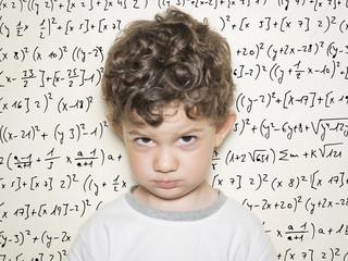 Niño y matemáticas
