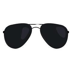Vector Single Cartoon Sunglasses