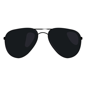 Vector Single Cartoon Sunglasses