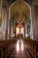 Sokolow Malopolski, Poland - June 9, 2016: The interior of the s