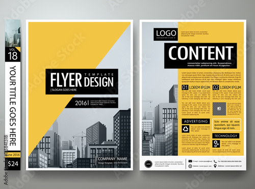 Flyers design template vector brochure report magazine flyers design template vector brochure report magazine poster templatever book portfolio presentation wajeb Gallery