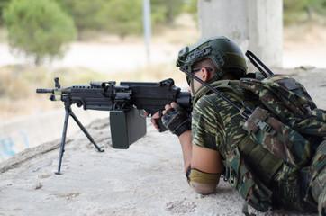 Sniper aim target Kneeling position plate cover