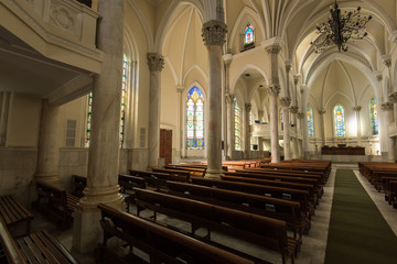 Gothic Style Church Interior