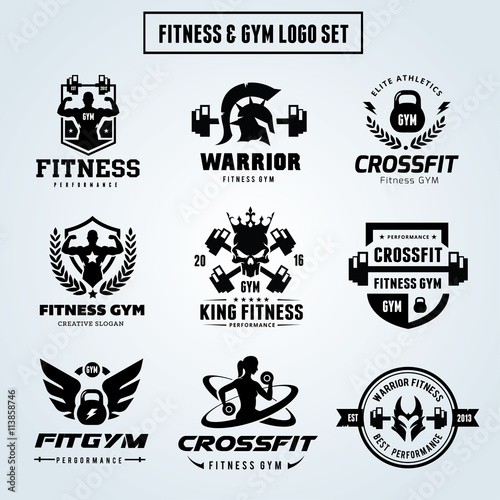 Pics Photos - Crossfit Gym Logo