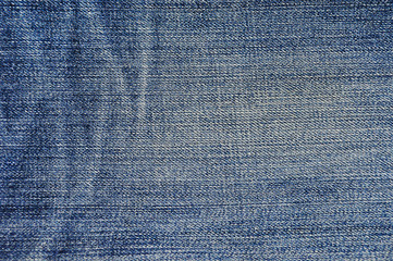 Blue jeans texture background.  For work to you.