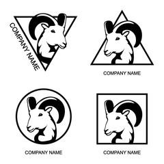 Set of Ram logo
