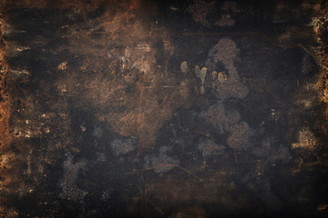 grunge dirty metal background or texture Wall mural