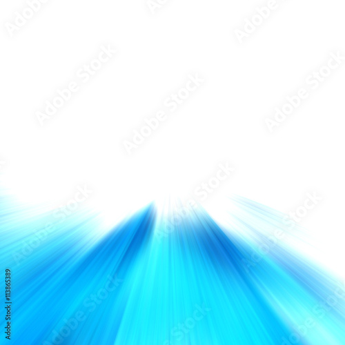 """Blue Abstract Zoom Motion Background"" Stock Photo And"
