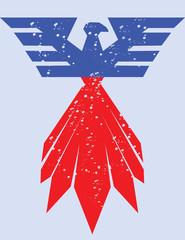 Vector - American eagle symbol