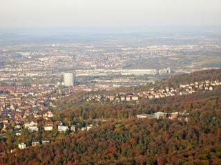 View over Stuttgart