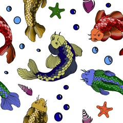 Catfish seafood image vector