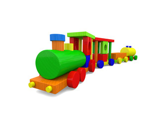 Cute toy train