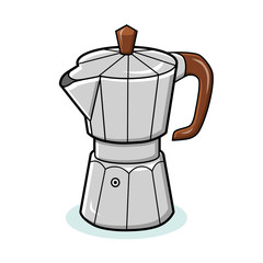 Coffee maker icon.