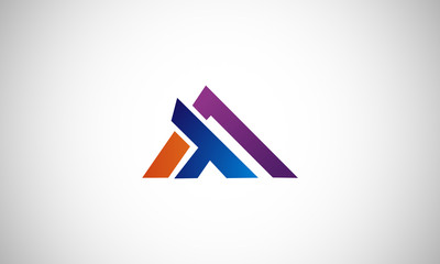 logo, delta, arrow, symbol, vector, letter, d, unusual, techno