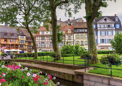 Houses in Colmar, Alsace, France