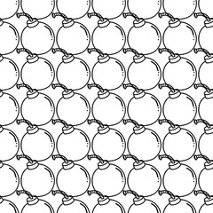 Bomb Doodle Pattern Background