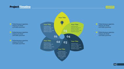 Process Chart Slide Template 6