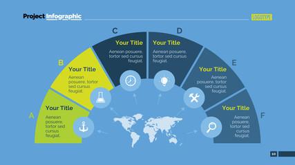 Semicircle Diagram Slide Template