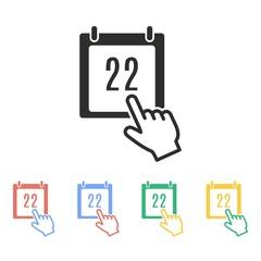Calendar - vector icon.
