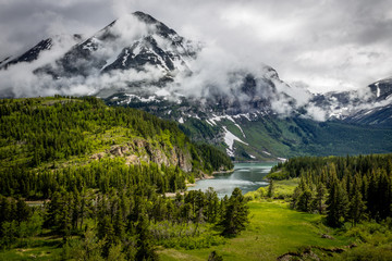 """""""Glacier Green""""  The eastern entrance to Glacier National Park in northwestern Montana is majestic."""