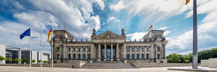 Foto op Canvas Berlijn Reichstag Berlin, Deutschland