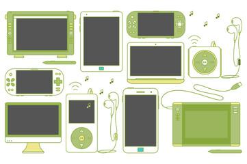Gadget Icons.