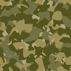 Military fashion seamless pattern, army pattern, camouflage pattern vector. Pattern swatches included in file.