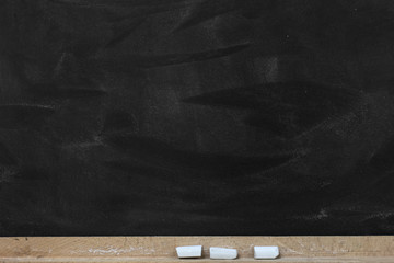 Empty Chalkboard Background./Empty Chalkboard Background